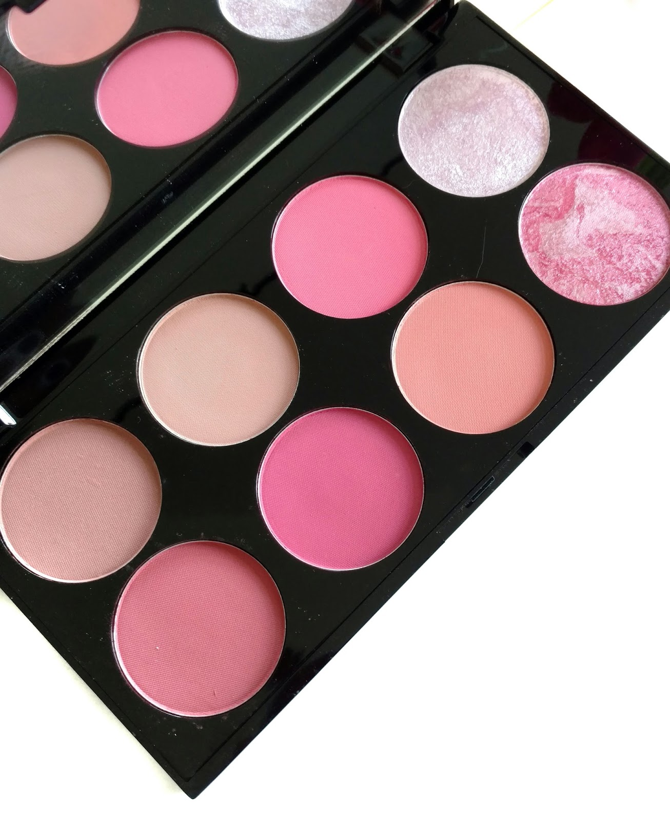 makeup revolution blush palette sugar and spice