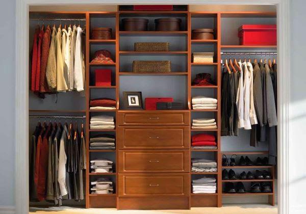 Lemari pakaian minimalis cabinet unit