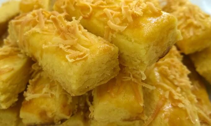 Kastengel Cake Recipe, Fun Snack in the Rainy Season Lazy