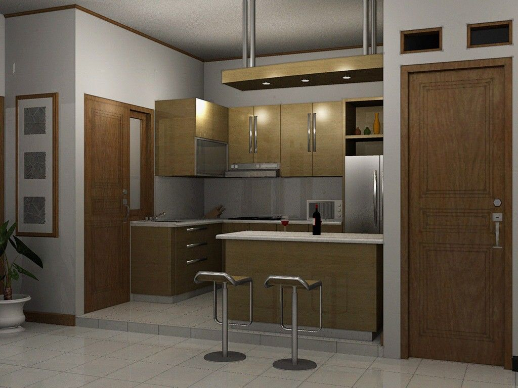 Ide Interior Untuk Dapur Mungil Menarik