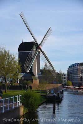 萊登, Leiden, 荷蘭, holland, netherlands, molen de put風車