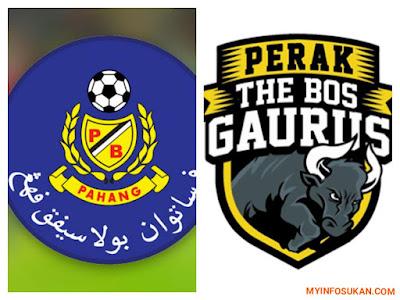 Live Streaming Pahang vs Perak Liga Super 28 Oktober 2017