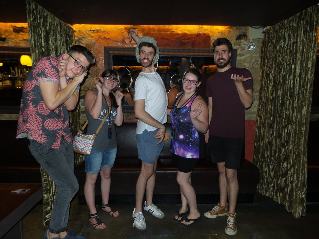 Palrice8 ajr the click album release show 62117 bowery after the picture adam whispered can you guys stay after the meet and greet we have a gift for you and my sister and i were like wtf kristyandbryce Choice Image