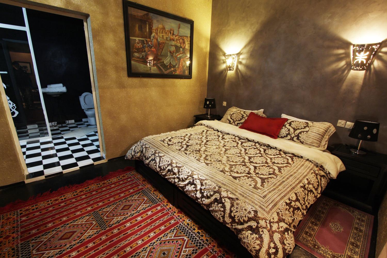 Habitación del Riad Ksar Aylan