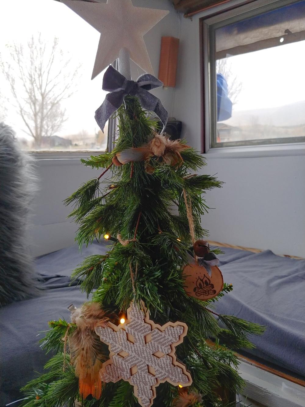 Motorhome Christmas tree
