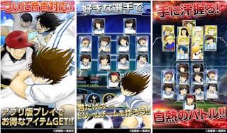 Captain Tsubasa Soccer Mobile Mod Apk V1.0 game android