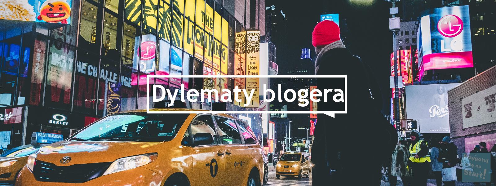 Na czym polega praca blogera? Jak reagować na uwagi i krytykę w sieci? Czy blogowanie przynosi korzyści? Dlaczego zacząłem pisać blogi!