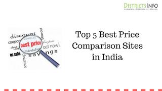 Top 5 Best Price Comparison Sites in India