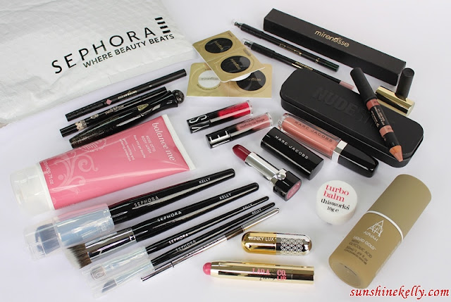 Sephora Malaysia is Now Online, Spring 2016 Looks, Sephora Pro Brush, Nudestix, Marc Jacobs Beauty, Laqa & Co, Balance me, mirenesse, alpha-h, liquid gold, winky lux, sephora malaysia, sephora online