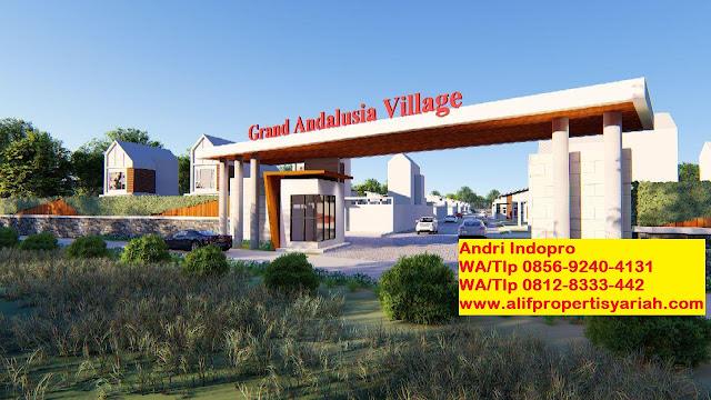 Jual-Tanah-di-Bogor-Kavling-Andalus-Indopro-(Grand-Andalusia-Village)-Cariu-Bogor-Timur
