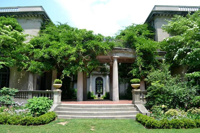 Сады Ван Влека, Монтклер, Нью-Джерси (Van Vleck House and Gardens, Montclair, NJ)
