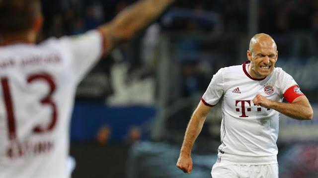 Bayern Tersungkur, Robben: Golnya Menolak Datang