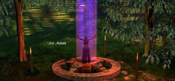 Resultado de imagen de tubo de luz violeta blog isis alada