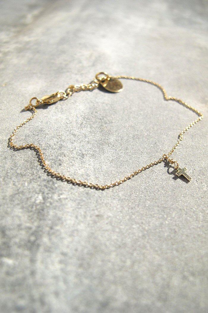 Bracelet croix Tassia Canellis