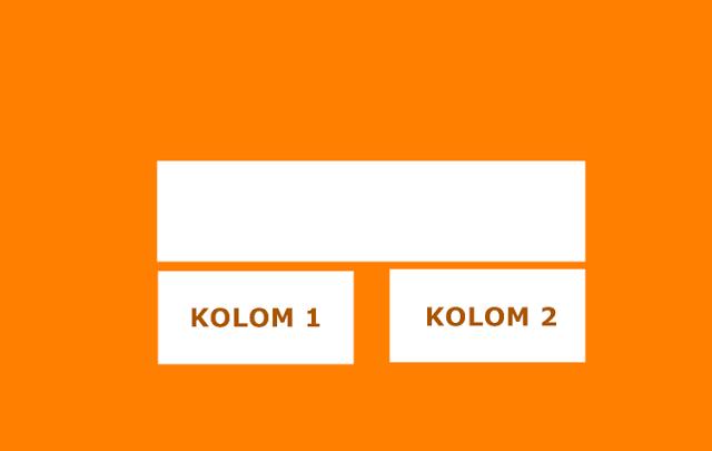 Cara Membuat Dua Kolom Widget di Bawah Postingan Blog