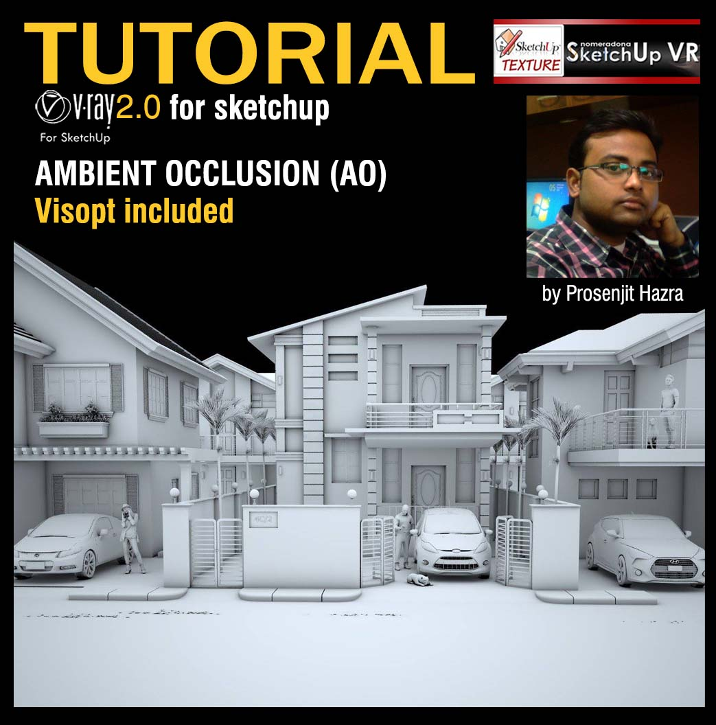 Tutorial Ambient occlusion vray2.0 for sketchup - cover