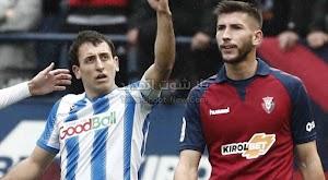 ريال سوسيداد يفوز على اوساسونا باربعه اهداف لثلاثه فى مباراة درامكيه من الدوري الاسباني