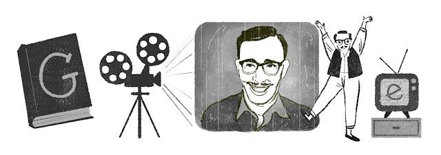 Fouad el-Mohandes' 92nd birthday - Google Doodle