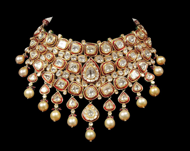 surana-jewellers-red-meena-necklace