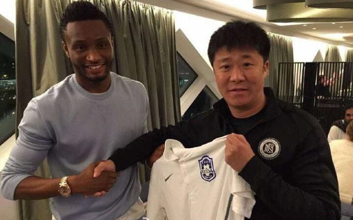 Mikel pens emotional tribute to Chelsea fans as he joins Chinese club