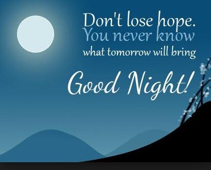 Kata Kata Ucapan Selamat Malam Bahasa Inggris