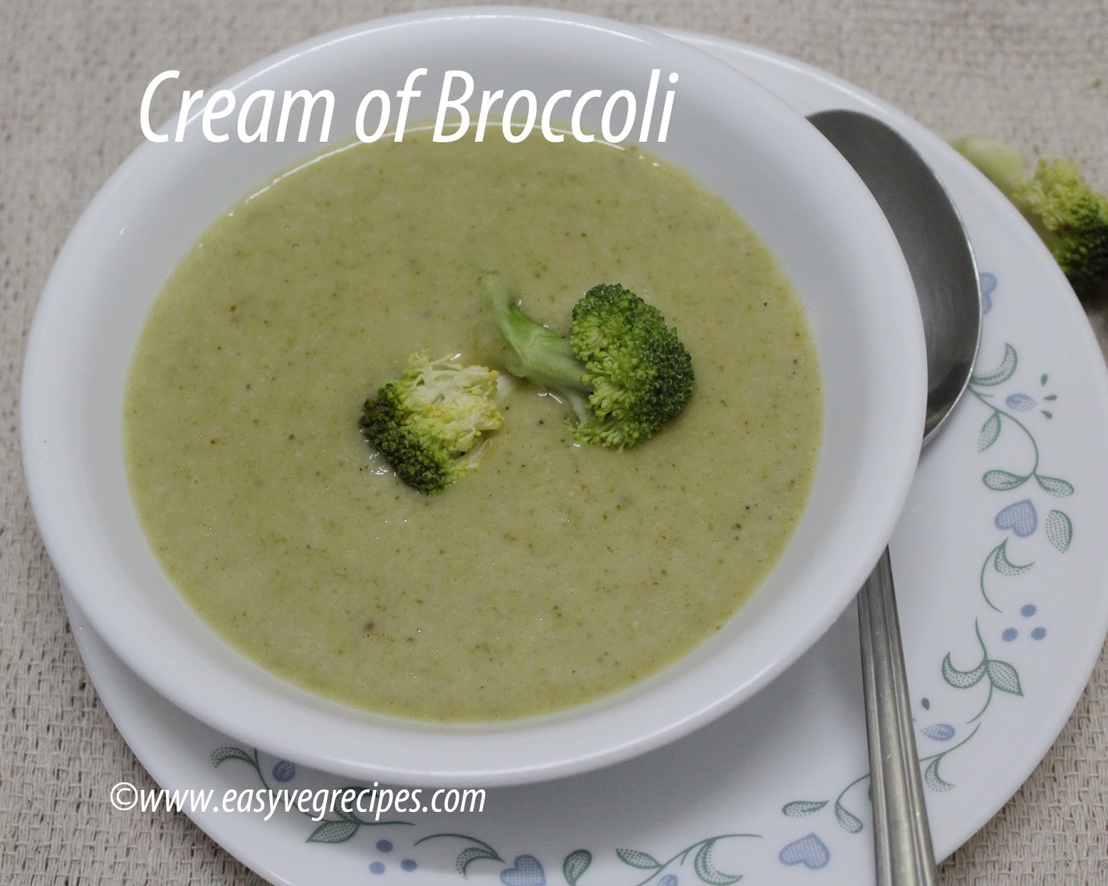 Cream of Broccoli