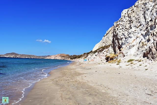 Achivadolimni, isla de Milos (Grecia)