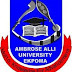 AAU Ekpoma IJMBE Admission Form 2018/2019 Session