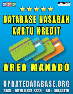 Jual Database Nasabah Kartu Kredit Manado