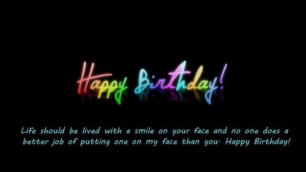 Happy Birthday Image With Photo