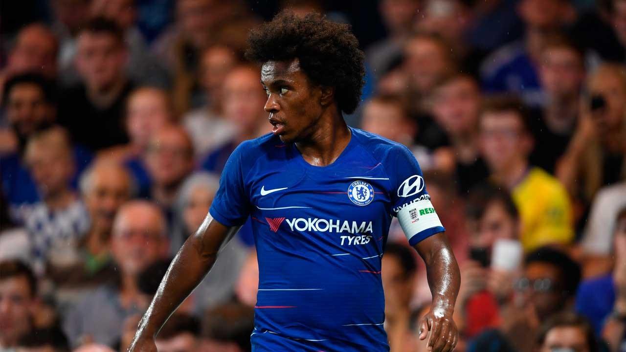 Willian Minta Fans Chelsea Tak Hujat Jorginho