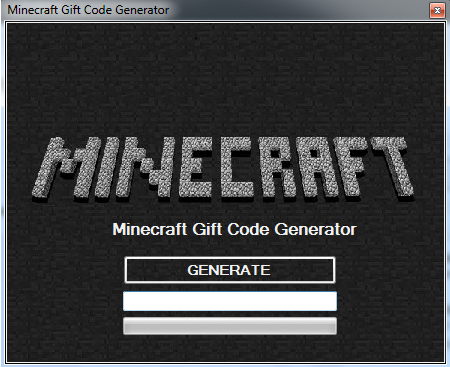 Minecraft Gift Code Generator ~ Hacks, Keygens and Cracks