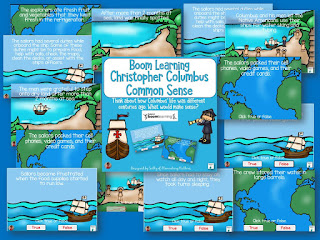 7 Ways to Celebrate Columbus Day! This blog post has seven different ideas for teaching primary aged children about Christopher Columbus including books, videos, and other fun resources.