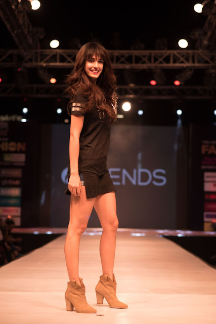 Bolloywood Diva Disha Patani at The Great Indian Fashion Week, TGIP Noida