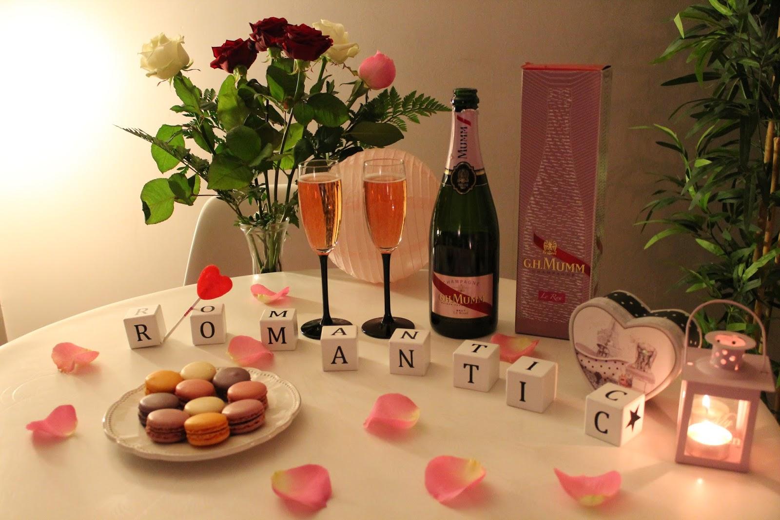 saint valentin coeur love amoureux valentines day gh mumm champagne rosé macarons picard éclairs rose renato montagner edition limitée