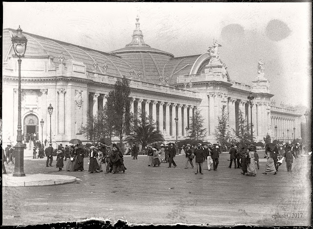 Ouverture du Grand Palais (1900) exposition universelle Paris