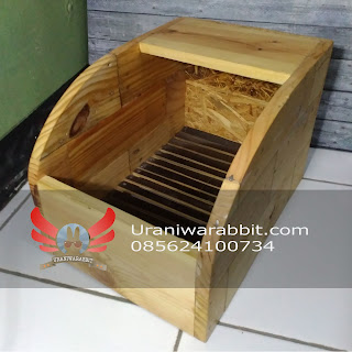 Sarang kelinci - nest box (model A)
