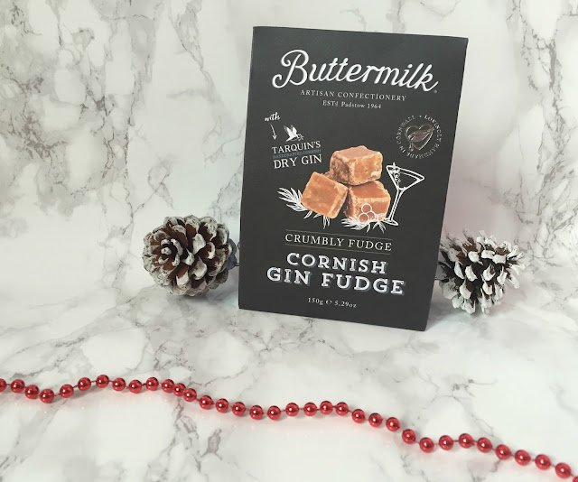 Box of Gin favoured Cornish fudge