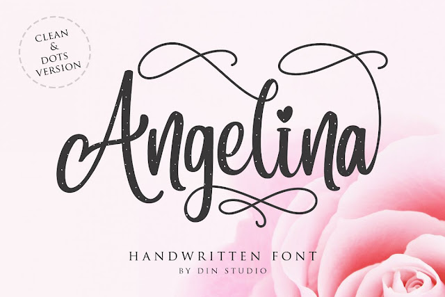 Angelina Script- Beautiful Handwritten Font