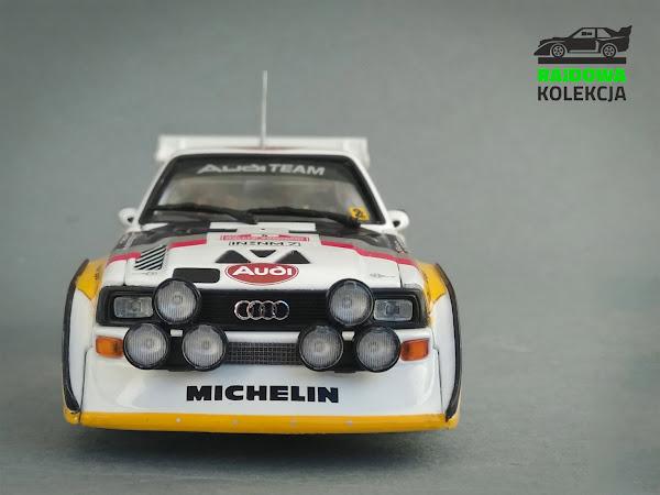 Minichamps Audi Quattro S1 Winner Sanremo 1985