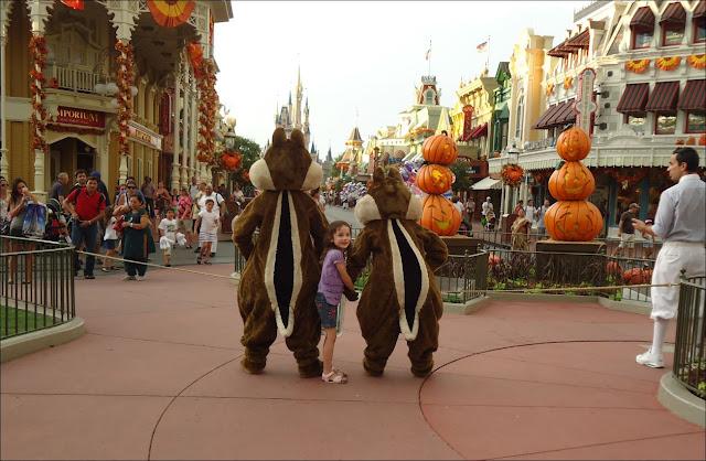 Walt Disney World chipmunks