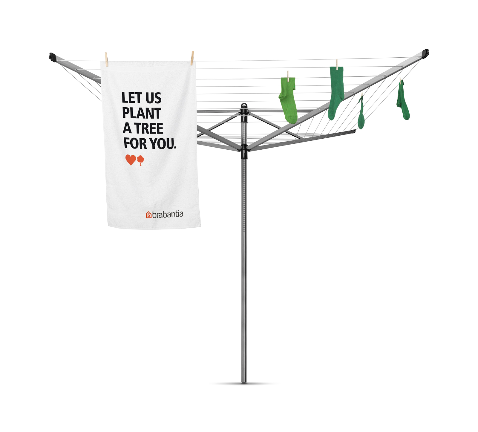 review brabantia essential rotary dryer and their love nature campaign lovenature. Black Bedroom Furniture Sets. Home Design Ideas