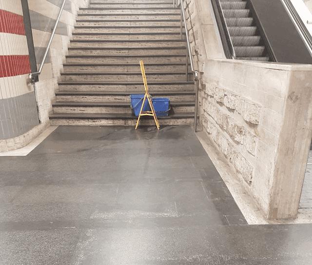 Lo scalone monumentale di Battistini