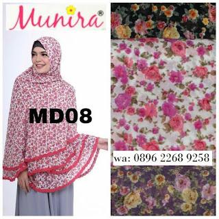 Hijab Munira MD 08 Koleksi jilbab syari terbaru dewasa