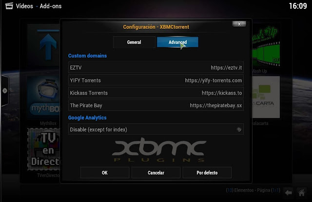 plugin video teledunet 2.0.2