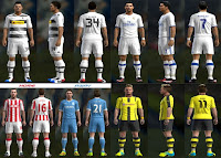 Kits Pack v3 Season 2016-2017 Pes 2013