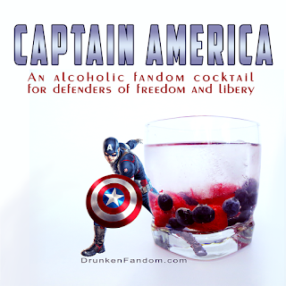 Captain America Gin and Tonic