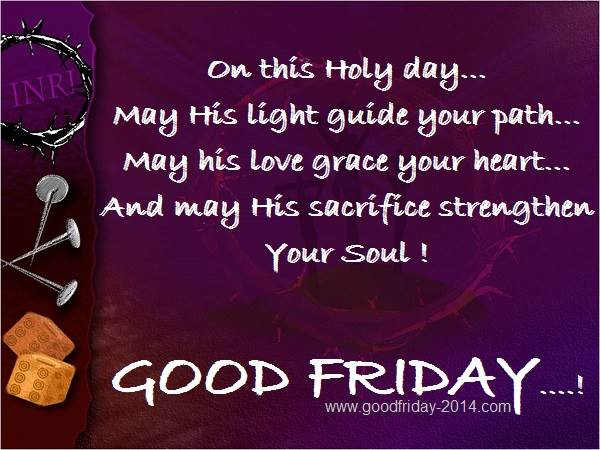 Good Friday Sms Wishes: Happy Good Friday Sms Wishes Gquotes And Walpapers