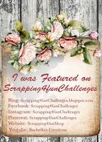 Création en vedette Challenge  146 - AG + Stitching.