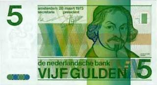 bankbiljet van 5 gulden